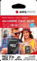 Mobile MicroSDHC 16 GB UHS-I U1 Agfa Photo 10580