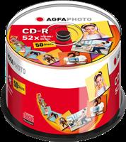 CD-R 700 MB (50er Cakebox) Agfa Photo 400002
