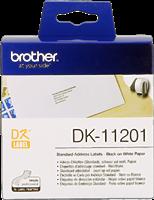 etykiety Brother DK-11201