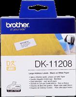 etykiety Brother DK-11208
