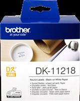 etykiety Brother DK-11218