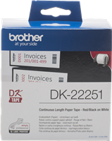 etykiety Brother DK-22251