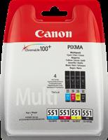 zestaw Canon CLI-551 cmybk multi
