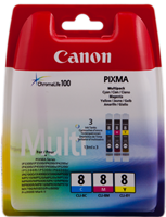 zestaw Canon CLI-8multi