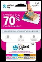 HP Instant Ink Registrierungskarte