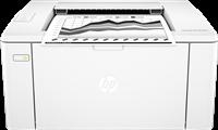 Czarno-biala drukarka laserowa  HP LaserJet Pro M102w