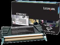 toner Lexmark X746H1KG