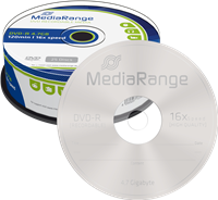 MediaRange DVD-R puste płyty 4.7GB