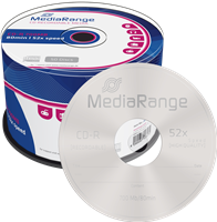 MediaRange Płyta CD-R pusta 700MB | 80min