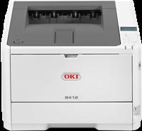 Czarno-biala drukarka laserowa  OKI B412dn