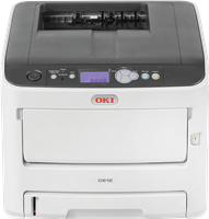 Kolorowa drukarka laserowa  OKI C612n