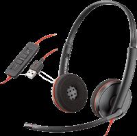 USB - Headset C3220 Plantronics 209745-201