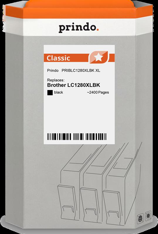 kardiż atramentowy Prindo PRIBLC1280XLBK