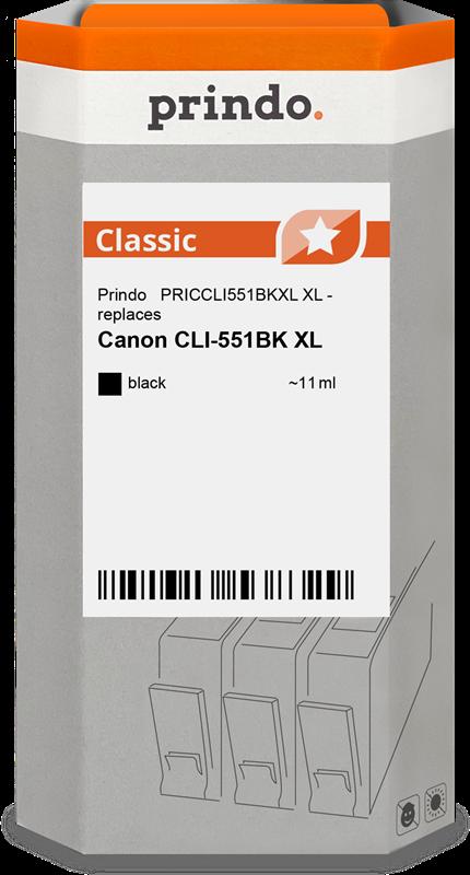 kardiż atramentowy Prindo PRICCLI551BKXL