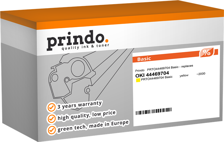 toner Prindo PRTO44469704 Basic