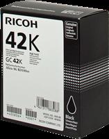 gel cartridge Ricoh GC 42 bk