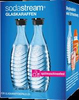 Sodastream Duo-Pack / 2x szklana karafa 0,6 l Przezroczysty