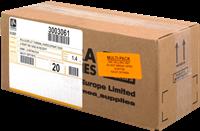 Termopapier Zebra 3003061 20PCK